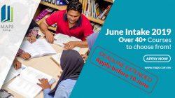 June 2019 Intake Deadline Extended