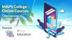 Launch of Online courses at MAPS College