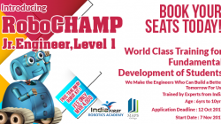 MAPS College introduces RoboCHAMP Jr. Engineer, Level 1
